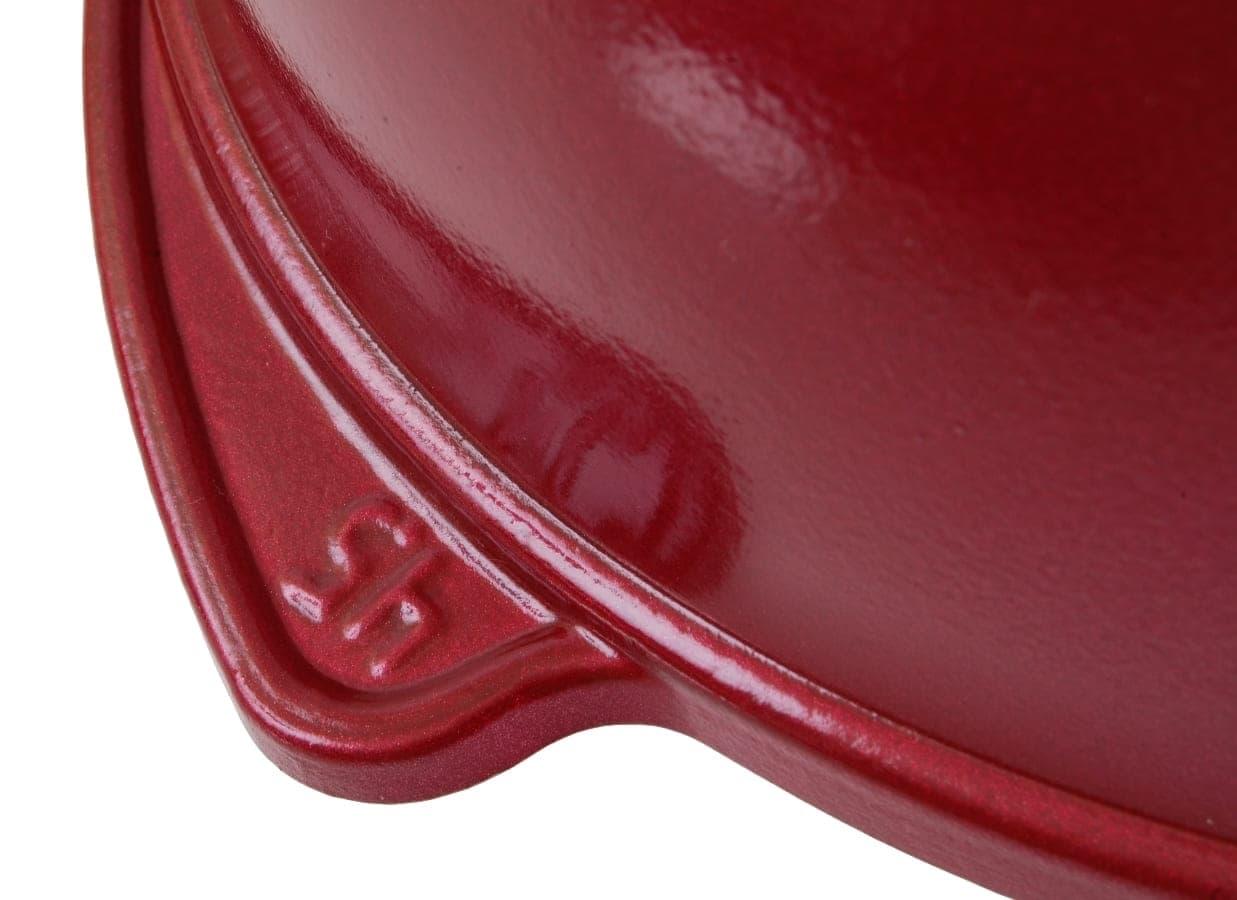 Казан с керамическим покрытием 4,5 л. стеклянная крышка Kukmara - фото 4975