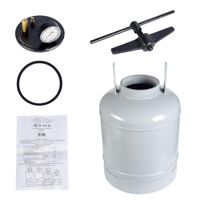 Автоклав для консервирования 24 литров НЗГА - фото 5230