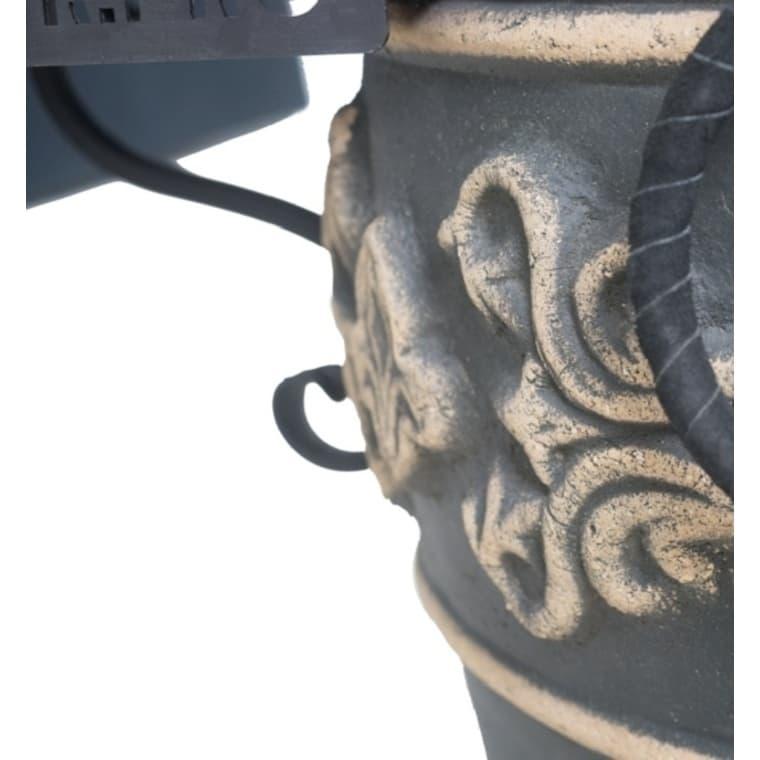 Тандыр Фирменный со столиком, графит, Эко - фото 6773