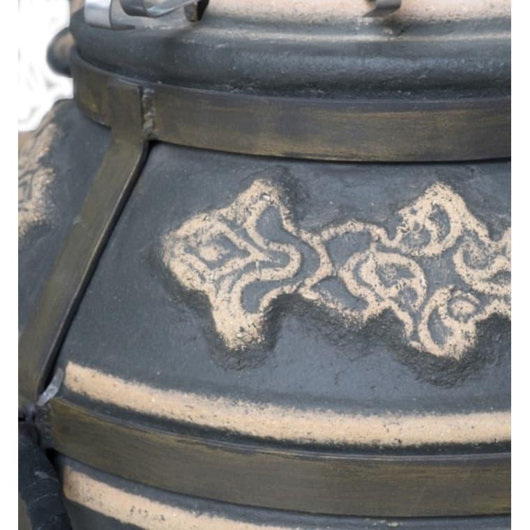 Тандыр Фирменный со столиком, графит, Эко - фото 6775
